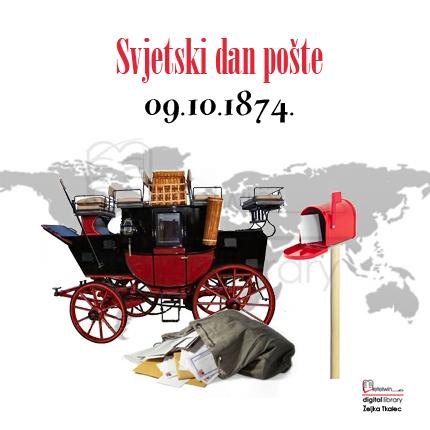 Slikovni rezultat za Svjetski dan pošte